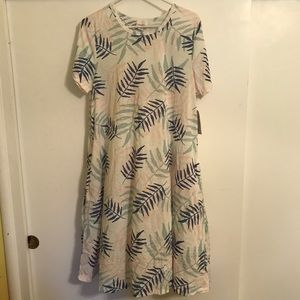 Large Lularoe Jessie dress